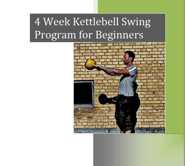kettlebell swing beginner program