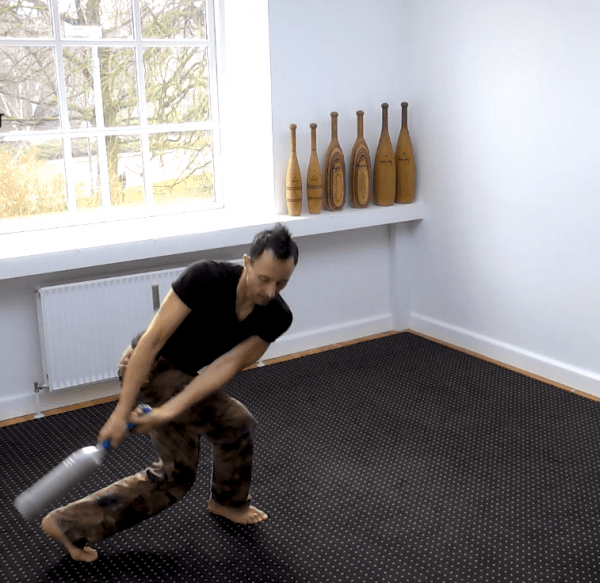 indian clubs routine footwork and combinations