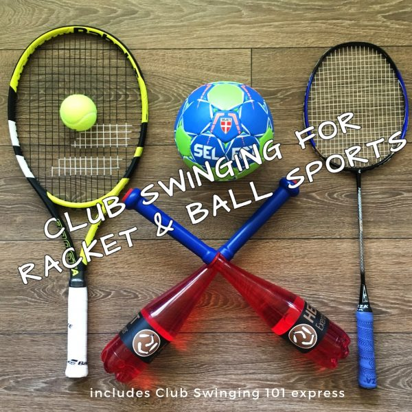 indian clubs for racket and ball sports