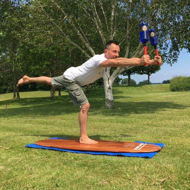 Club Swinging for Yoga board & Boardsports
